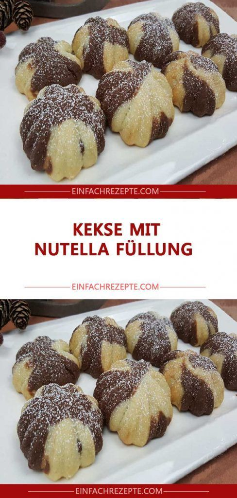 Photo of Cookies with Nutella filling 😍 😍 😍
