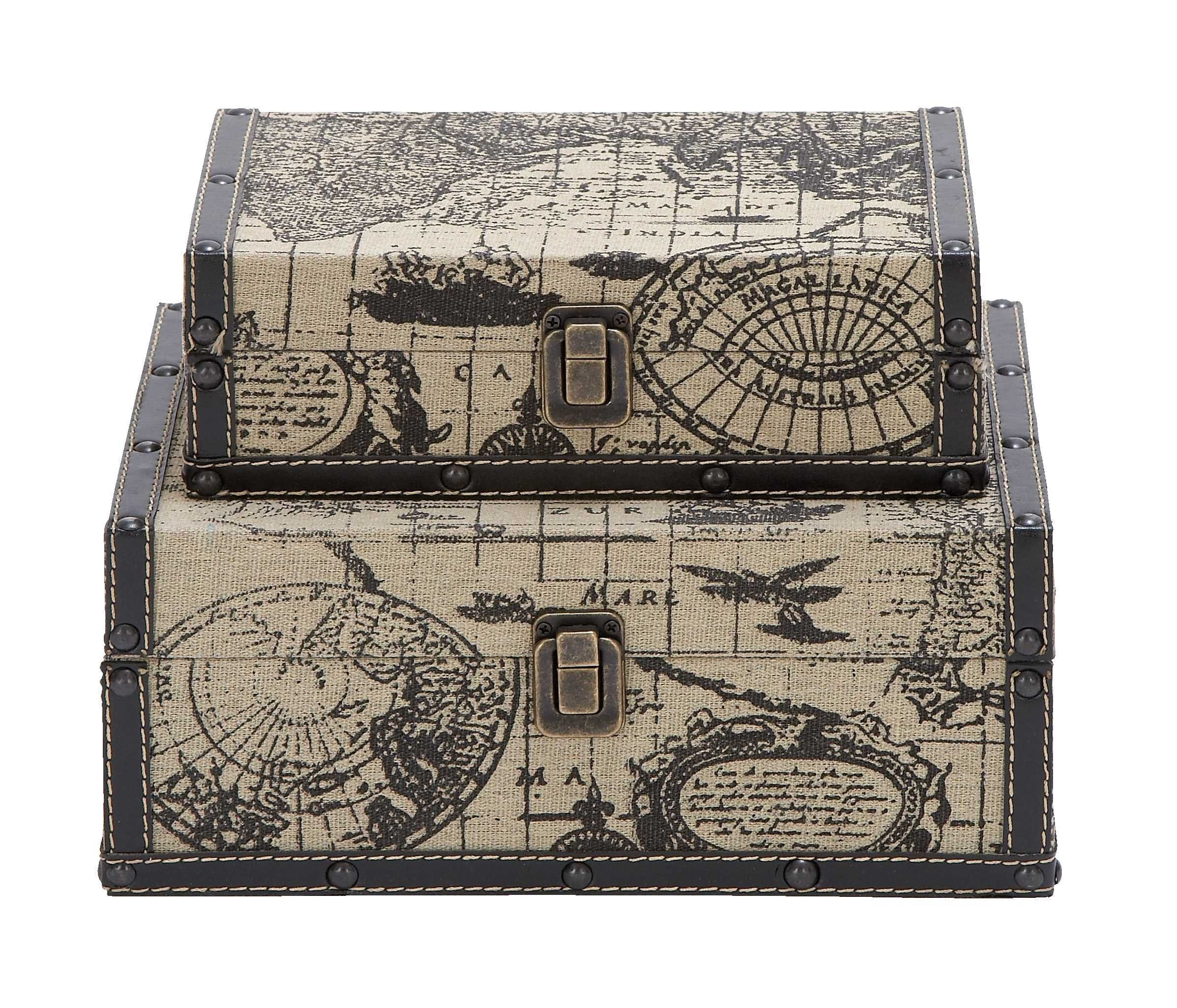 Buy square shape traveling boxes with ancient world map at hhoutlets buy square shape traveling boxes with ancient world map at hhoutlets for only 5291 gumiabroncs Image collections