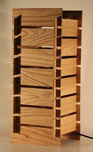 Tischleuchte KAYA ALTO - Stehlampe aus Holz - made in Germany - LED