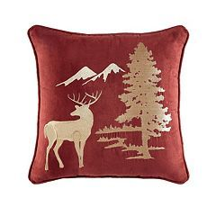 Estate by Croscill Oakwood Fashion 16'' x 16'' Throw Pillow