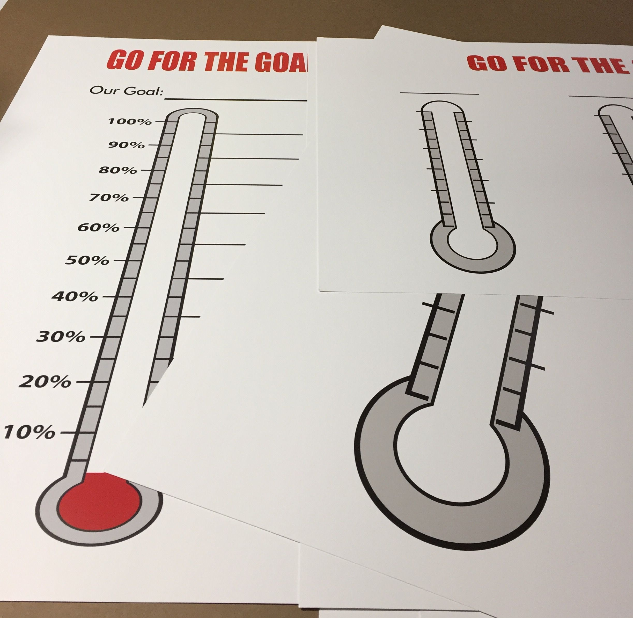 Pin On Fundraising Thermometers And Goal Charts