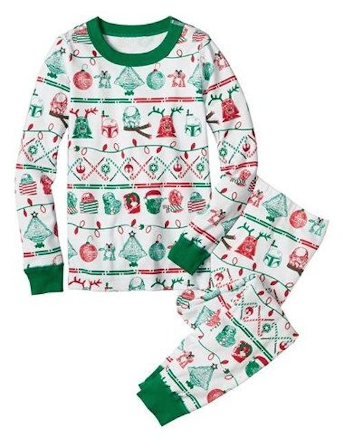 b2332ade77 Hanna Andersson  Star Wars™ Season s Greetings  Organic Cotton Two-Piece  Fitted Pajamas