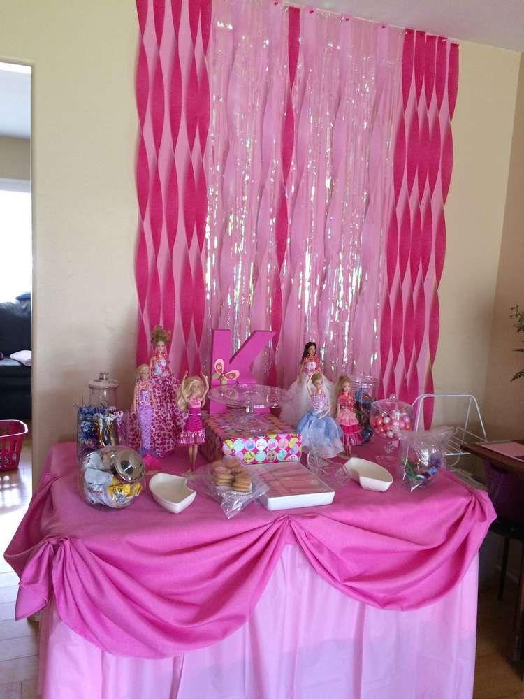 Barbie sparkle Birthday Party Ideas Photo 12 of 12