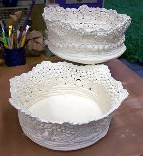 Coil Pot with coils as texture   Pots, Texture and Coil pots