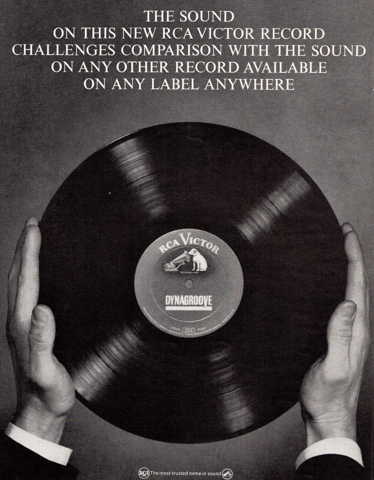 Rca Dynagroove Ad In 2019 Old Vinyl Records New Vinyl