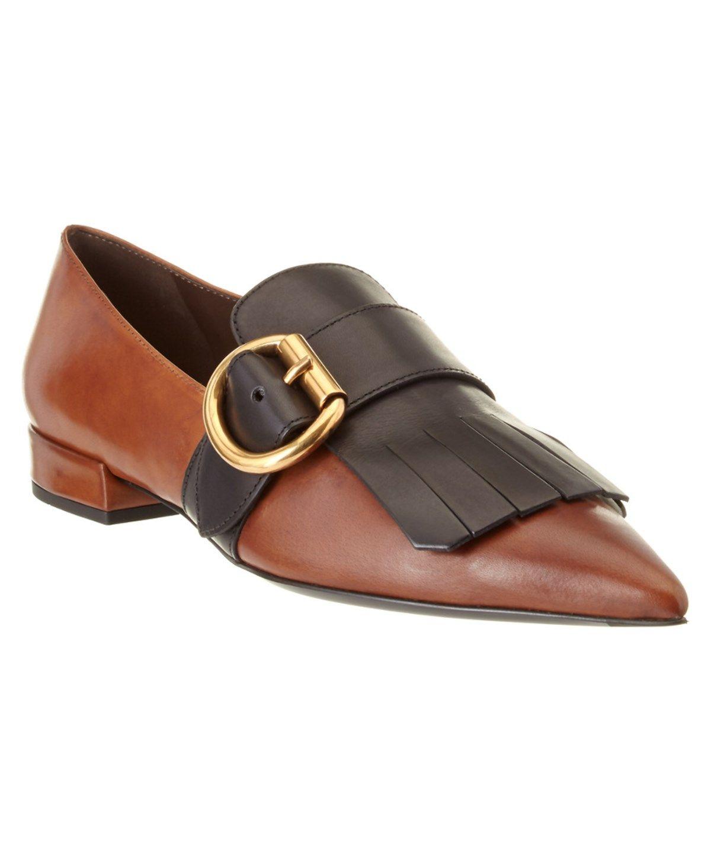 ee31c4edb786 PRADA Prada Pointy-Toe Leather Loafer'. #prada #shoes #loafers ...