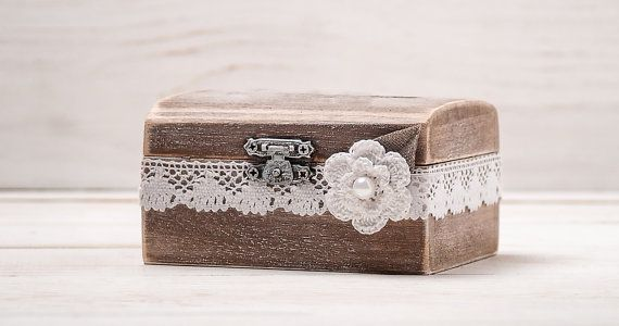 Wedding Ring Box Wedding Ring Holder Ring Pillow Bearer