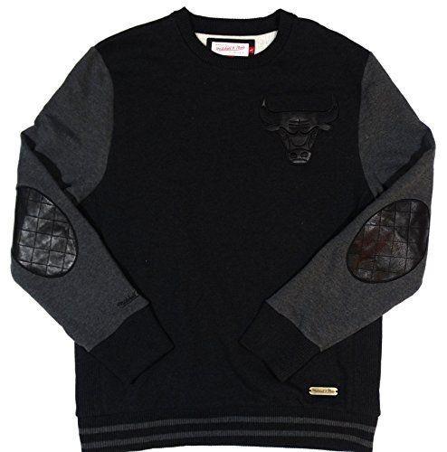 Chicago Bulls Mitchell & Ness Pullover Sweatshirt Black Size L M&N http://www.amazon.com/dp/B00TGJ13YS/ref=cm_sw_r_pi_dp_Zwc3ub11QW1AN