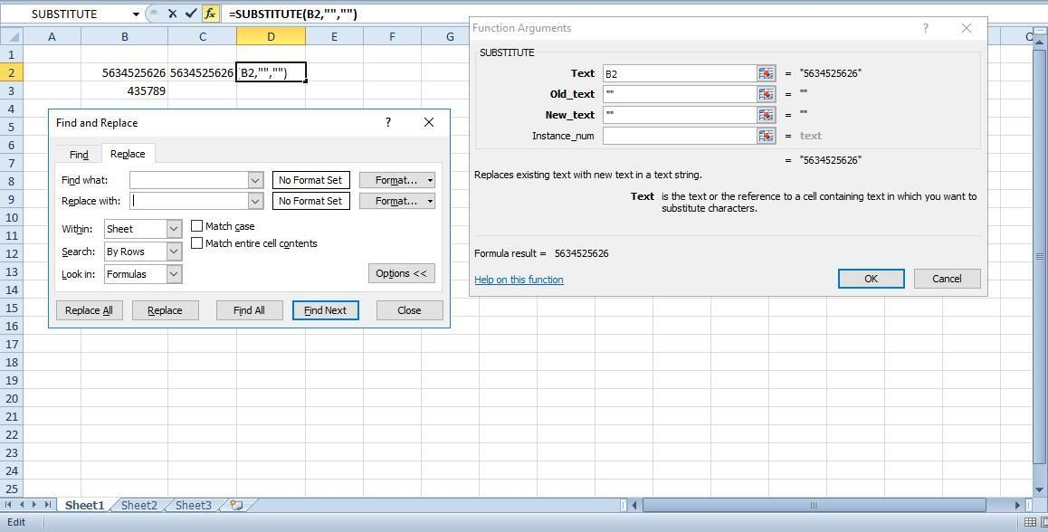 How To Remove Spaces in Excel - excel spreadsheet app iphone