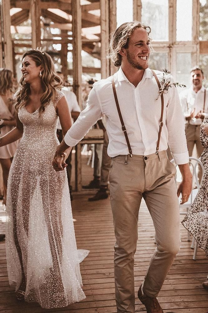 18 Stylish Groom Attire For Bohemian Wedding #attireforwedding