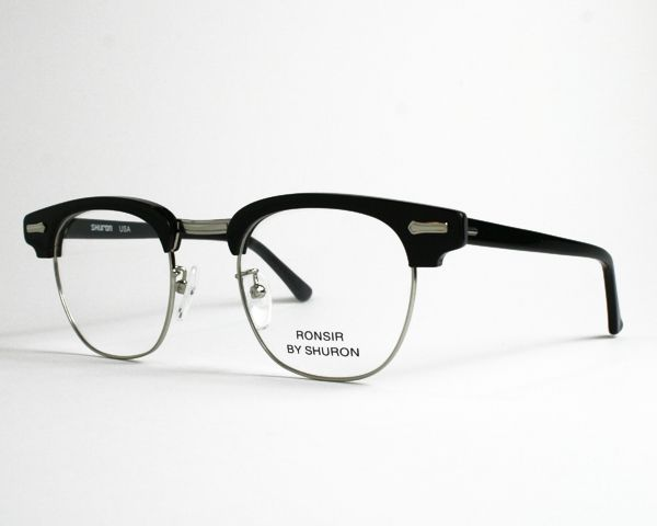 1fcd8002cb9 Shuron Ronsir Zyl. This is the original design for the Browline eyeglass  frame first sold in 1947. It s still sold by the same company.
