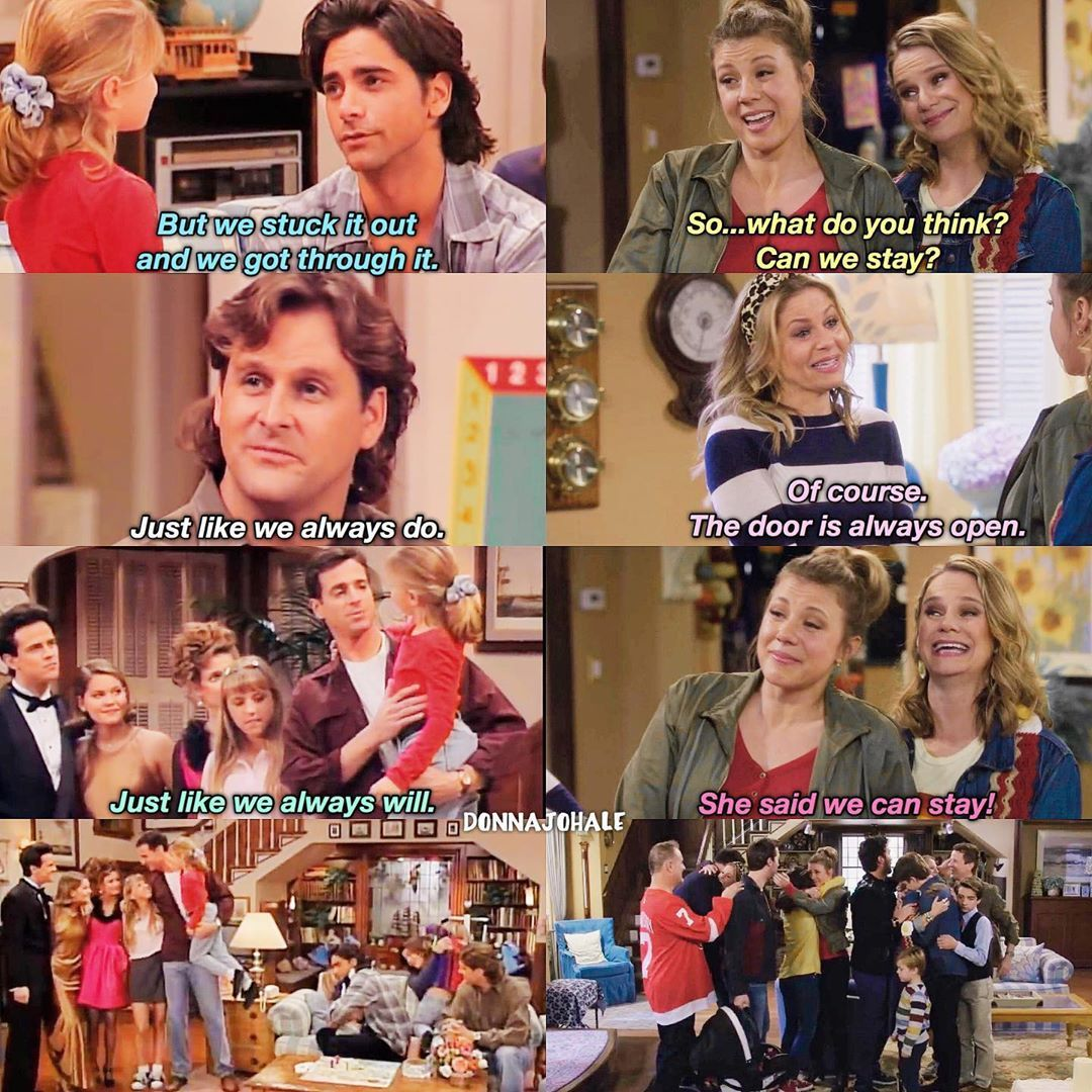 Megan On Instagram Last Episode Of Full House X Last Episode Of Fuller House In 2020 Fuller House Full House House Funny