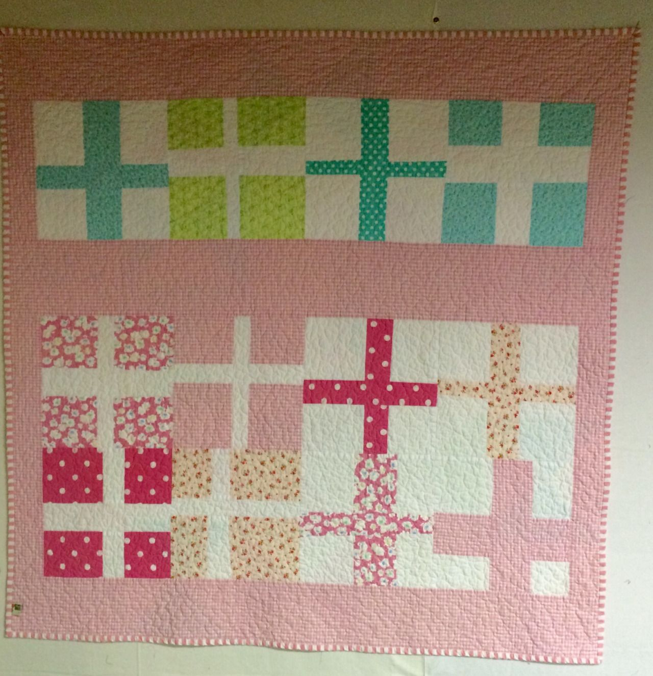 Sometimes, making the quilt back is more fun than making the top. I tend to get…