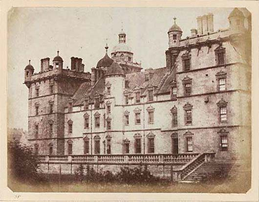 George Hariot's School, Edinburgh, Scotland. 1840's.
