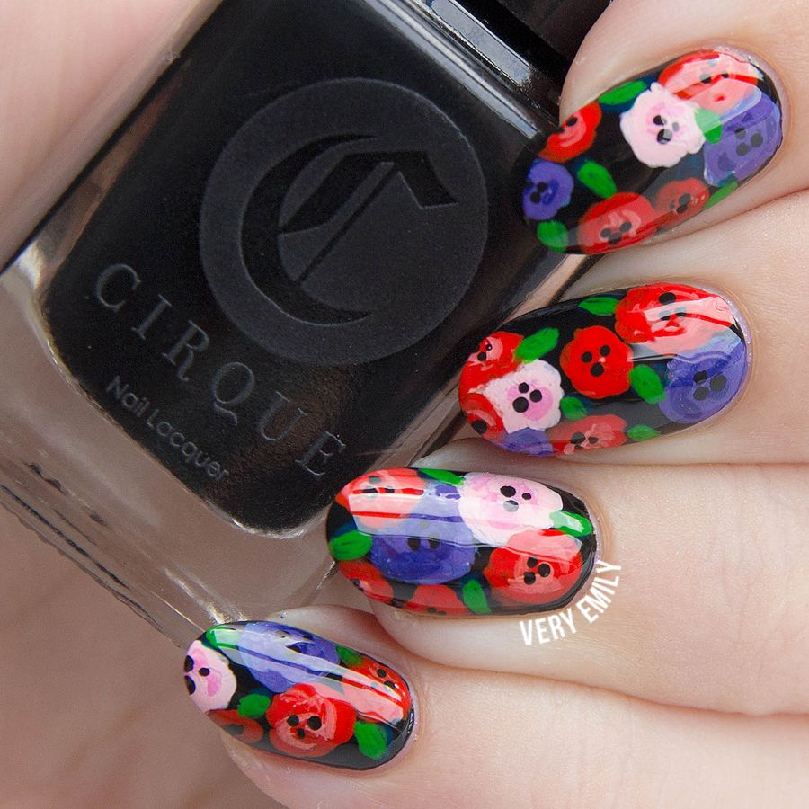 Very Emily » Stamping | NAILS | Pinterest | Art challenge, Hair ...