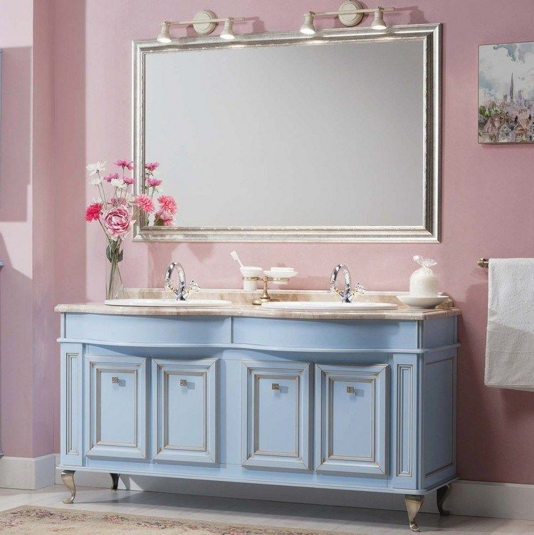meuble salle de bain moderne en 40 id es qui revigoreront. Black Bedroom Furniture Sets. Home Design Ideas