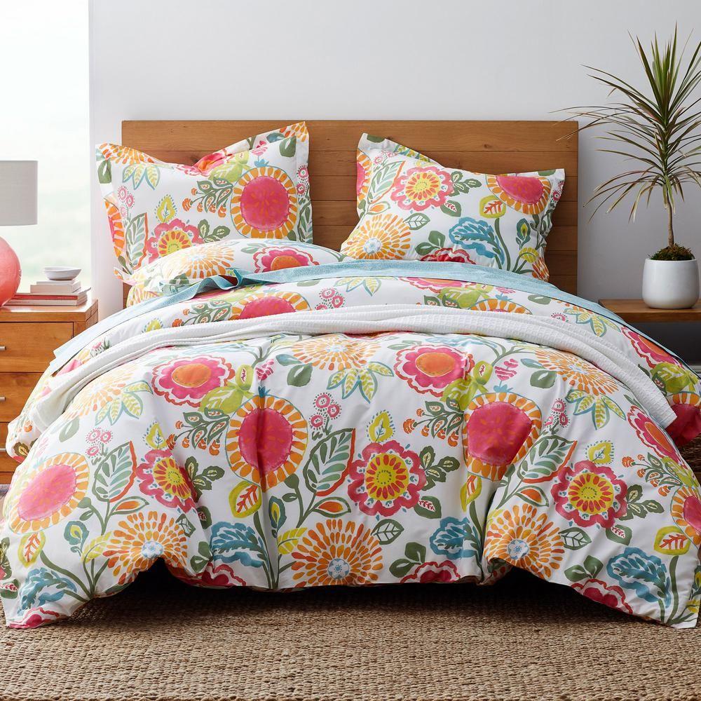 The Company Store LoftHome Suri Multicolored Floral Cotton