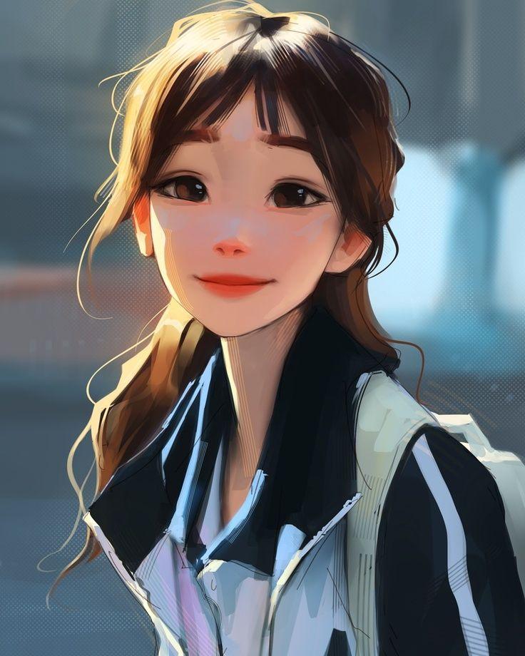 Smile, an art print by Sam Yang