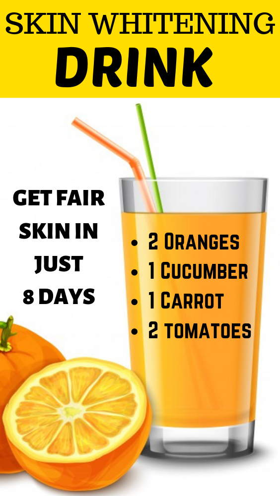 Glowing skin how to get naturally drink