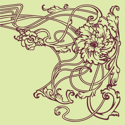 art nouveau decoration - Google zoeken | Art nouveau | Pinterest ...