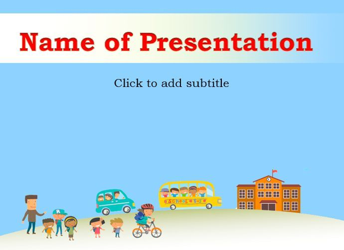 School Safety  Powerpoint Templates    Safety And Template
