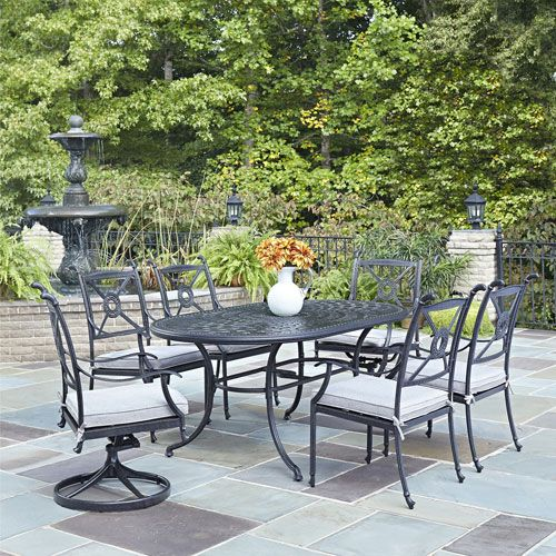 Athens Charcoal 7125 x 415-Inch 7-Piece Outdoor Dining Set Products