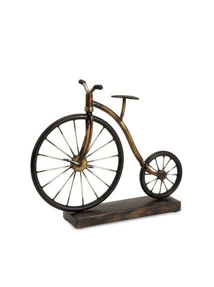 Expedition Big Wheel Bicycle Statuary, http://www.myhabit.com/ref=cm_sw_r_pi_mh_i?hash=page%3Dd%26dept%3Dhome%26sale%3DA2L7Z5YBJEI2Y9%26asin%3DB003XZVPJE%26cAsin%3DB003XZVPJE