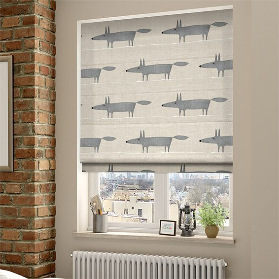 Mr Fox Mini Neutral Roman Blind From 163 33 95 Neutral
