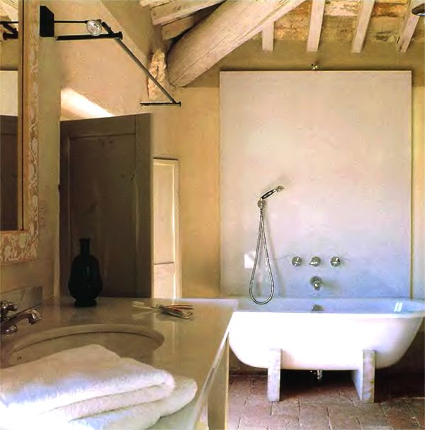Country House Bathroom Design