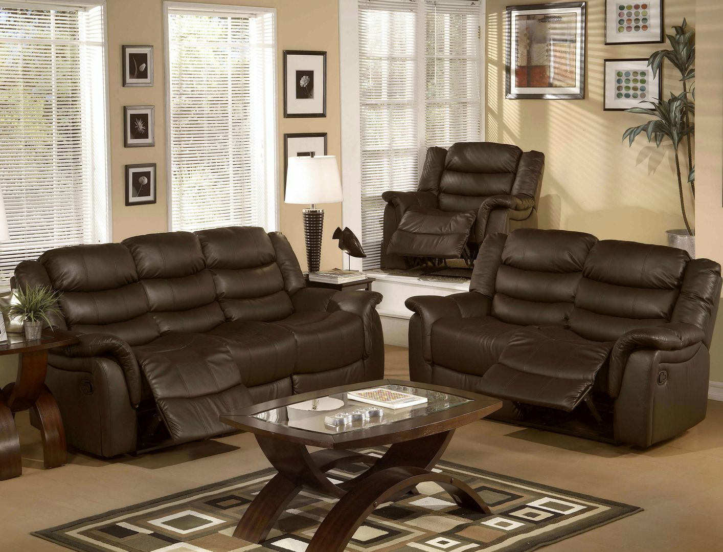 Admirable Loveseat And Chair Set Chair Sets Loveseat Recliners Uwap Interior Chair Design Uwaporg