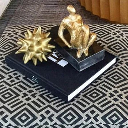 Best Cocktail Table Bling Dwellstudio Gold Urchins And 400 x 300