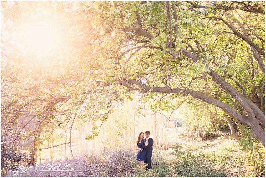South Coast Botanic Gardens Wedding Engagement Torrance Palos Ve