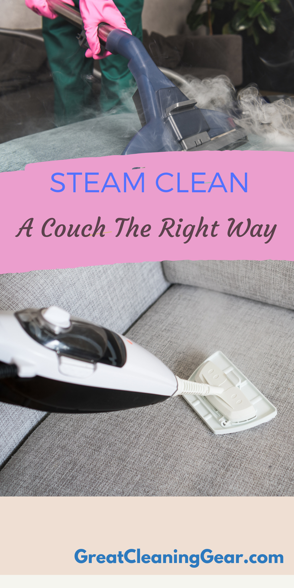How To Use A Steam Cleaner On A Couch Clean Couch Steam Clean