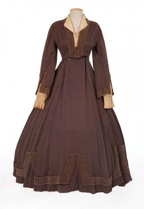 katharine hepburn quotjoquot brown period dress designed by