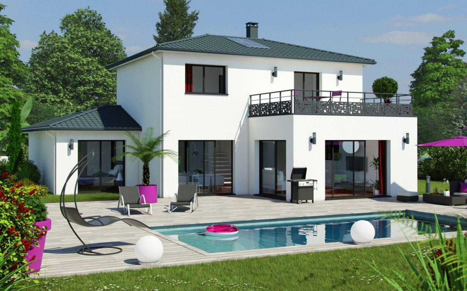 Modèle MAEVA   Construction maison, Modèle maison, Maison