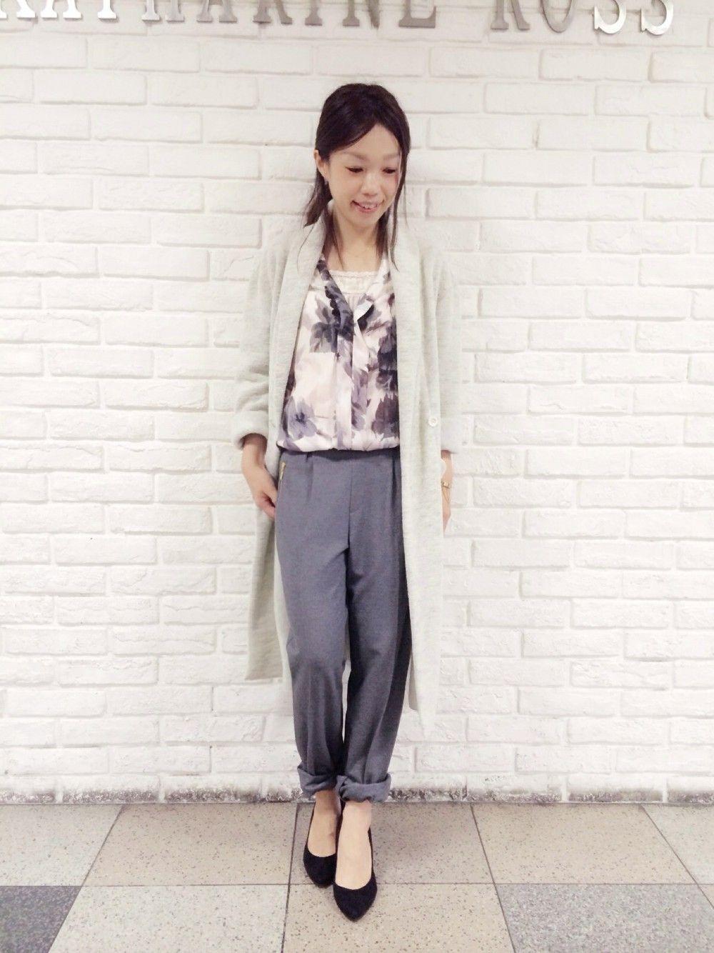 3844d549a7499 noriko(KATHARINE ROSS 三番街店)|KATHARINE ROSSのパンツを使った ...