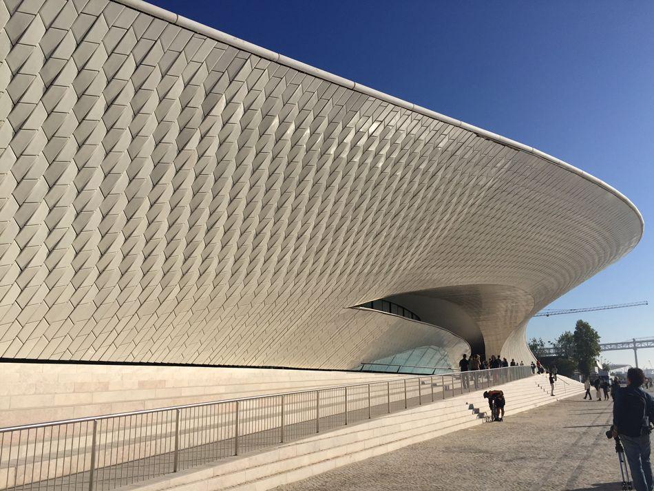 Lisbon architecture triennale maat museum amanda levete portgual