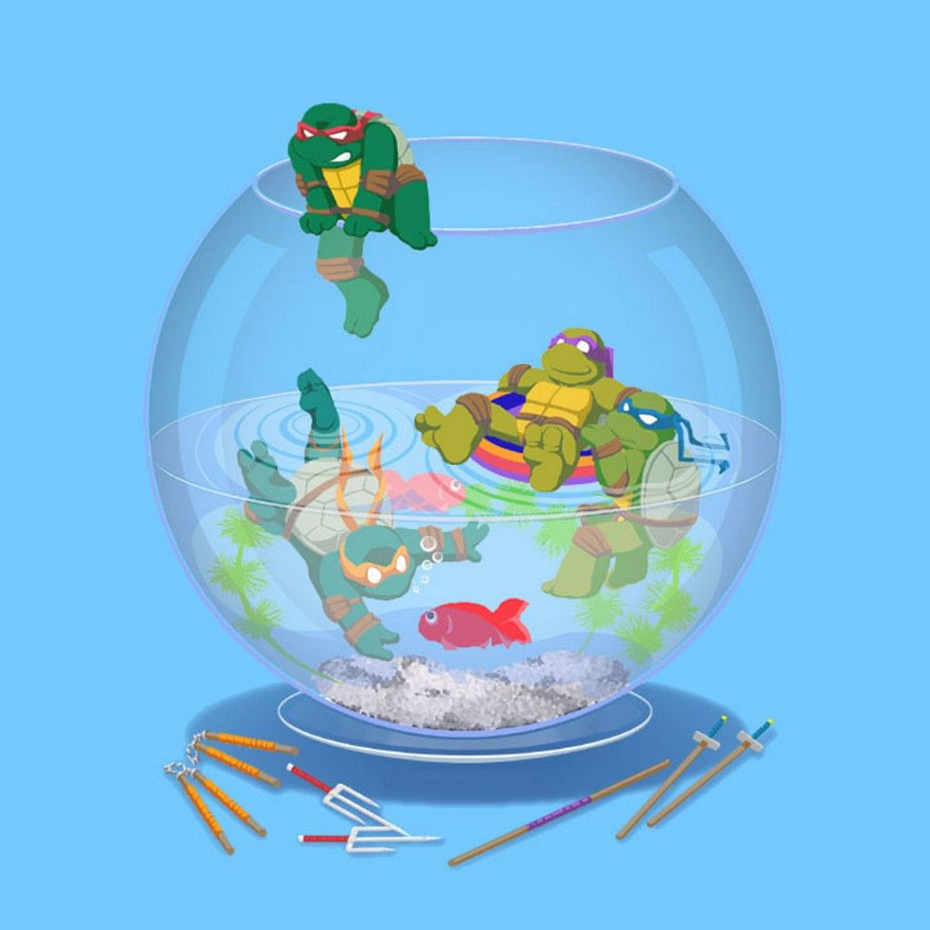 Ninja Turtles Wallpaper: Teenage Mutant Ninja Turtles HD IPad Wallpaper
