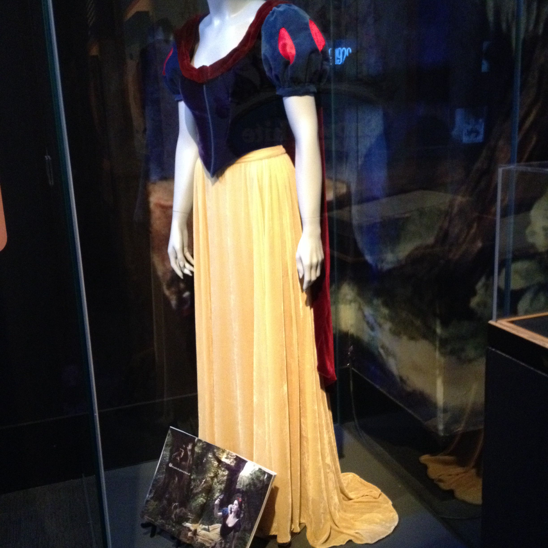 Original Snow White Dress....Walt Disney Exhibit at ...  Original Snow White Costume