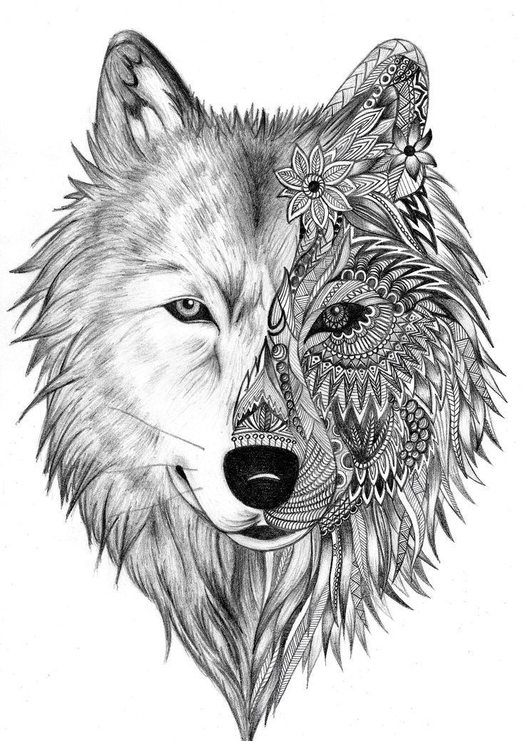 Imagen relacionada | Tatuajes de lobo | Pinterest | Tatuajes, Lobos ...