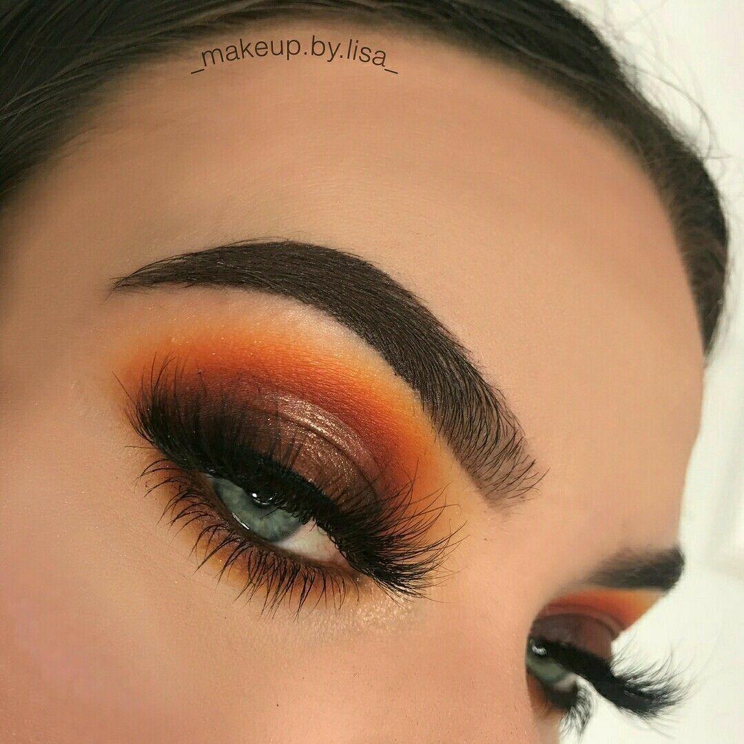 AMU Tutorial: Burnt Orange Smokey Fall Eyeshadow - Ronja