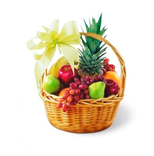 Fruristeria Com Arreglos Frutales Arreglos Frutales Con Flores Cestas De Frutas De Regalo