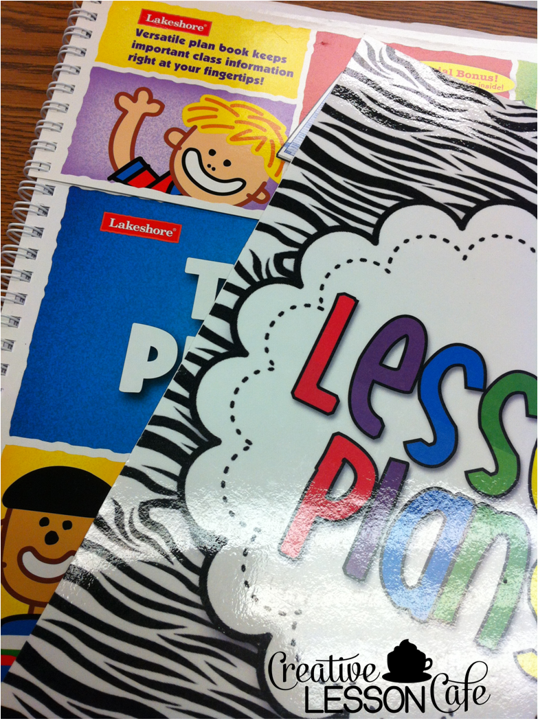 Creative Lesson Cafe Lesson Plan Books Drab To Fab  Classroom