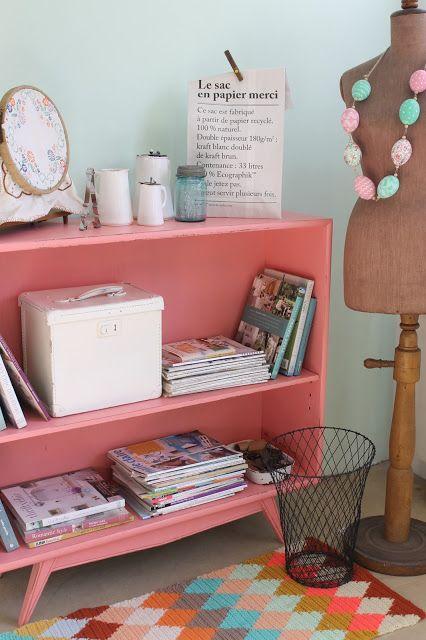 Color reciclado y producci n decoraci n vintage blog reciclado de muebles pinterest - Decoracion vintage reciclado ...