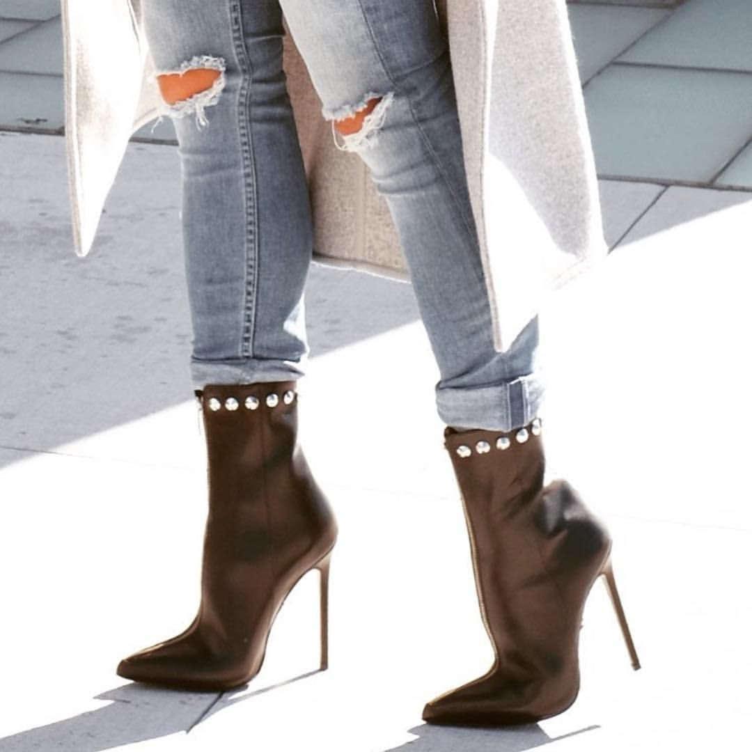 Gucci GG Marmont Heeled Boots | Platform ankle boots