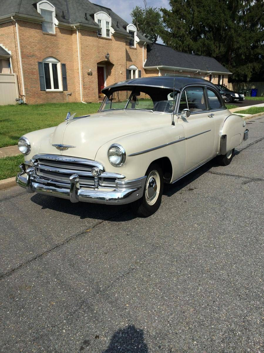 1950 Chevrolet Stylemaster Deluxe Trim 23k Miles Chevrolet Old Classic Cars Car Chevrolet