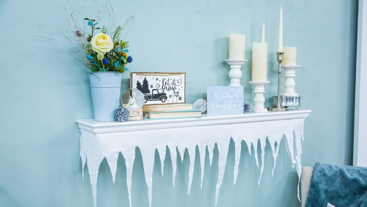 Icicle Décor in 2020 Home and family hallmark, Home and