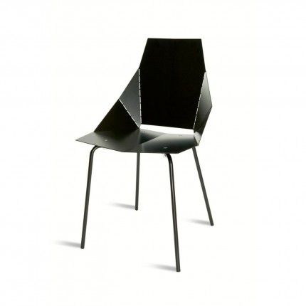 Blu Dot Real Good Chair In Black. Featured In The Hexagon Collection  Photography.