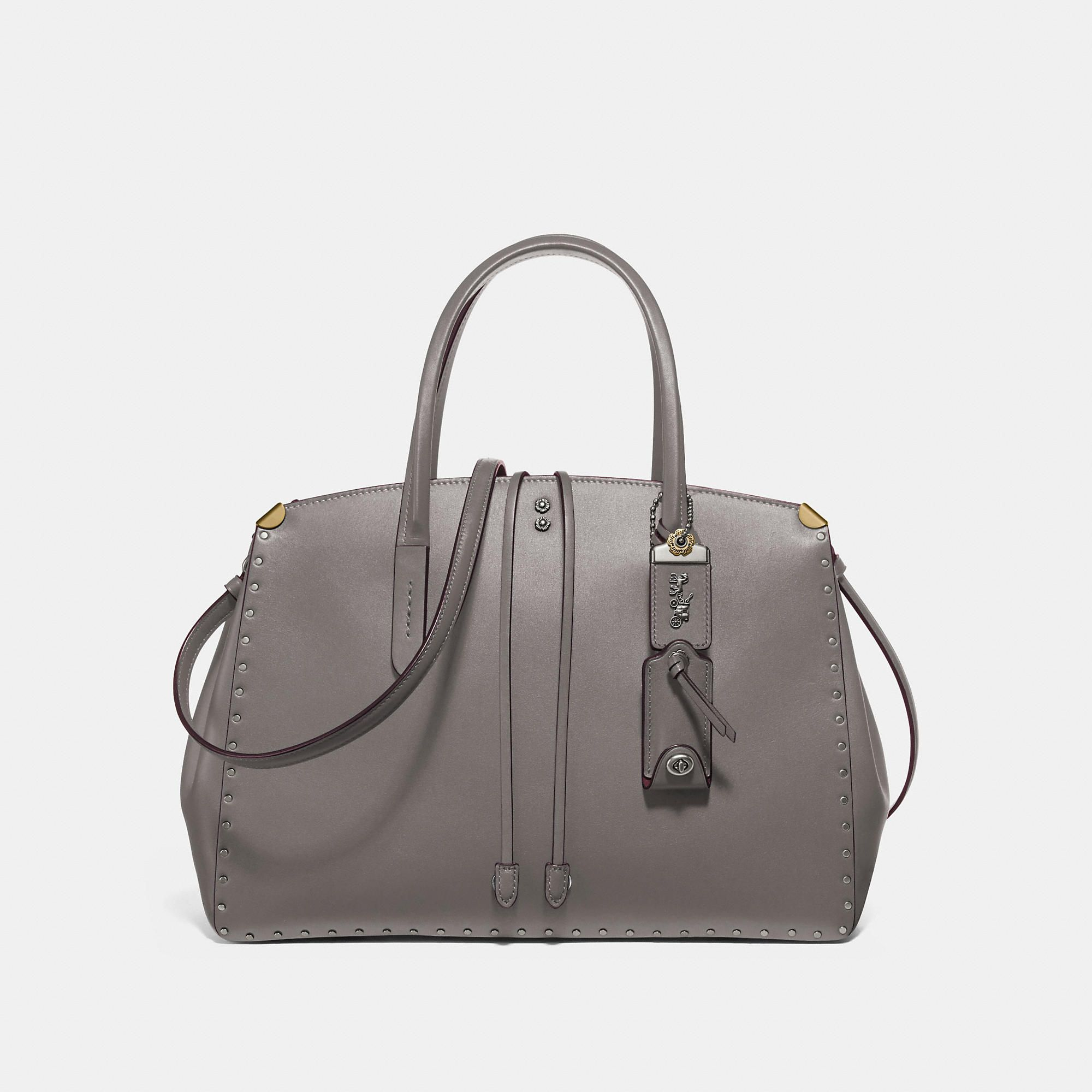 69ae2e447 Cooper carryall with rivets | Products | Bags, Luxury bags, Black