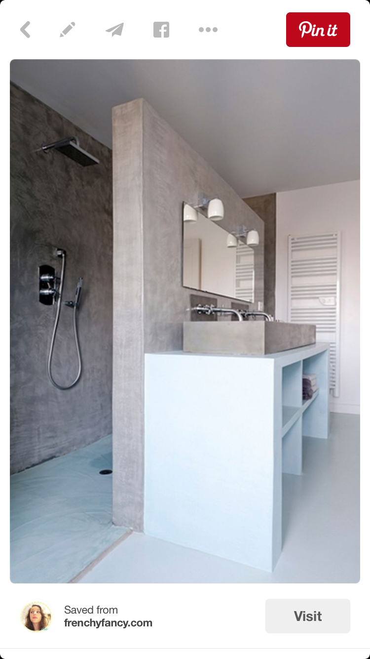You can make your own sliding bathroom mirror that goes across your ...